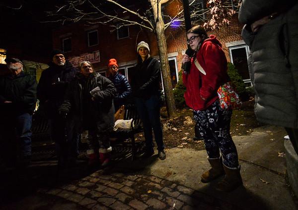 Homeless vigil - 011520