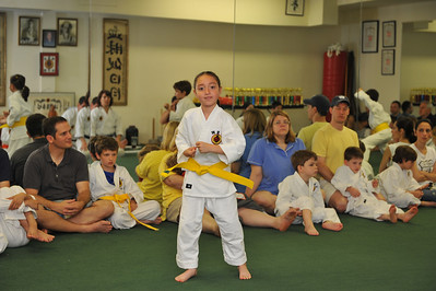 Karate Test June 2, 2013