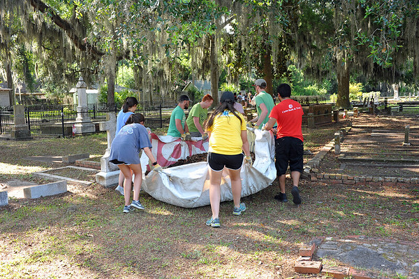 Oak Grove Cemetery Society - Keep Golden Isles Beautiful - The Gathering Place 07-15-19