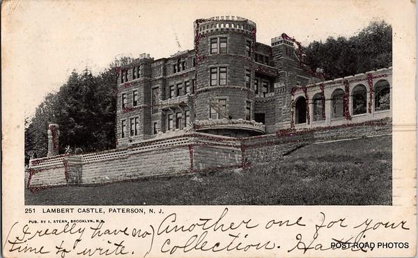 Postcard USA New Jersey Paterson