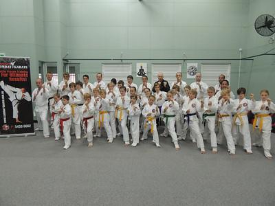 Last Combat Karate Grading 2013