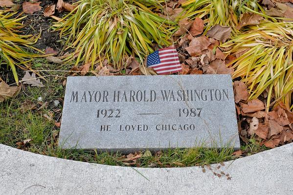 The Honorable Harold Washington Wreath Laying Ceremony 11252019