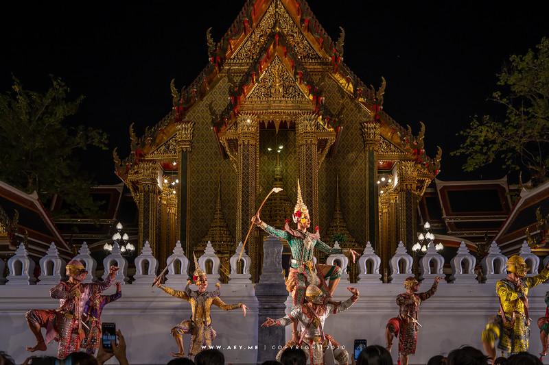 150th Anniversary of Wat Ratchabophit, Khon
