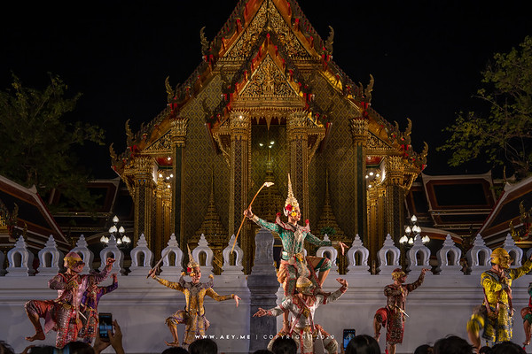 150th Anniversary of Wat Ratchabophit, Khon