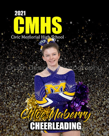 2021 CMHS Cheerleaders