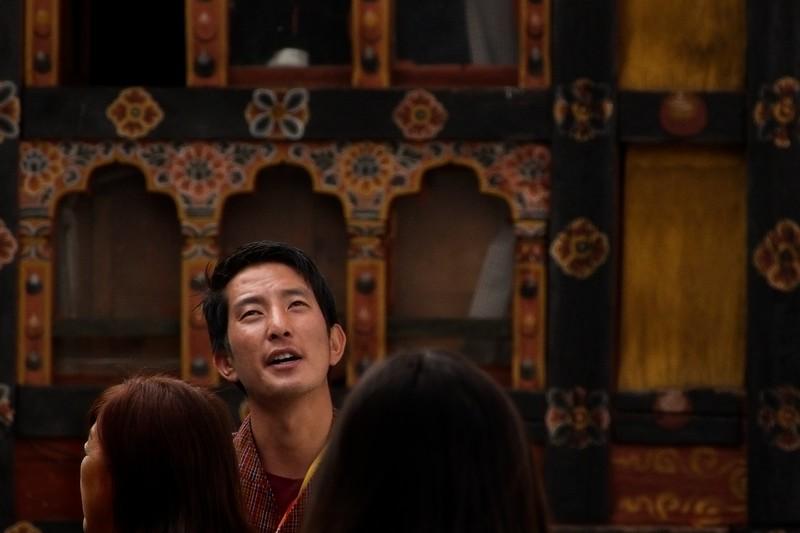 bhutan man in temple.jpg