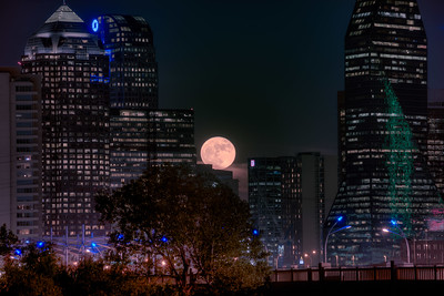Moon Over Dallas