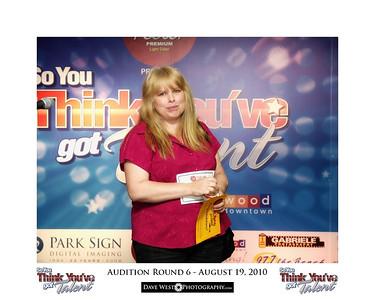 Audition Round 6 - August 19, 2010
