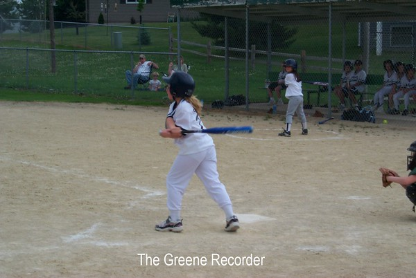 Little kids baseball and softball