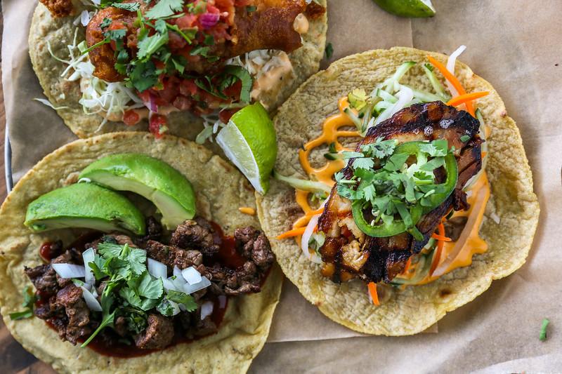 Tacos at Pablo y Pablo