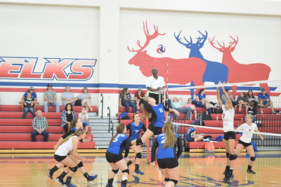 Elkhart- Frankston volleyball 09/20/16