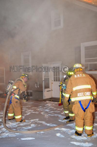 Mine Hill, NJ House Fire 18 William St. December 23, 2008