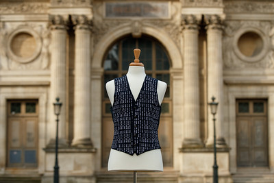 19/6/19 - Huawei unveil the 'it's coming home' waistcoat revamped for the Women's World Cup