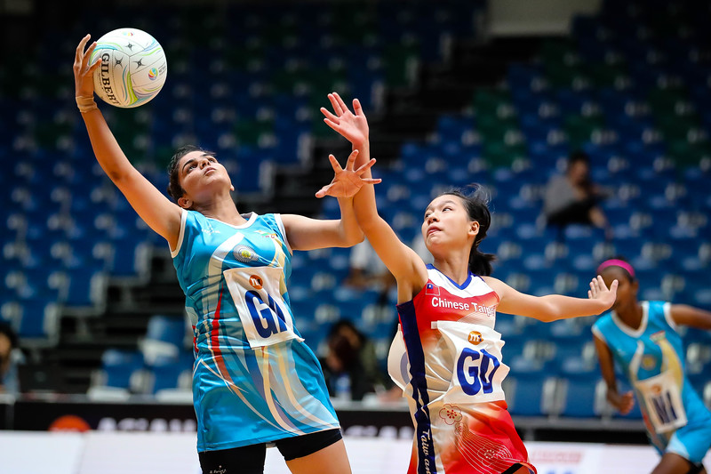 M1 Asian Netball Championships 2018 - IND vs Taipei