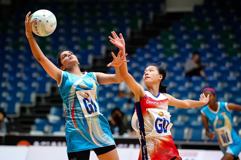 M1 Asian Netball Championships 2018 - IND vs Taipei