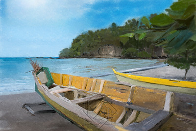 St Lucia Boats cropped