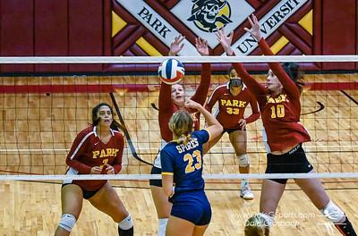 Park Univ. Women's Volleyball 2021 vs. Univ. of St. Mary