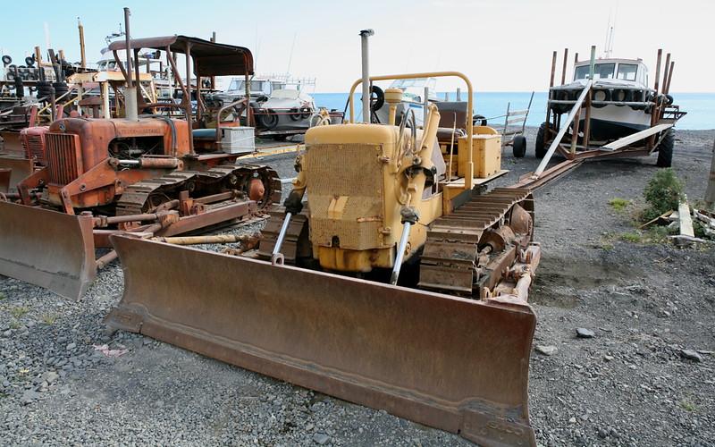 Bulldozer-Weiterverwendung