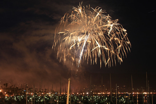 Independence Day, Santa Barbara, California