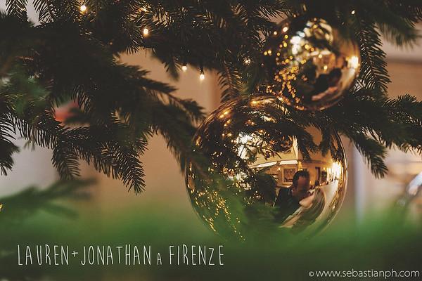 Servizio fotografico prematrimoniale invernale a Firenze