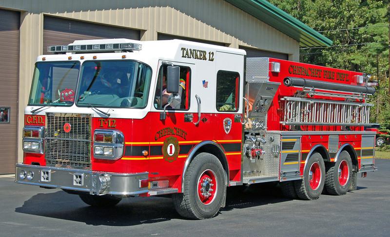 Tanker 12  2005 Spartan/Crimson  1750/2500