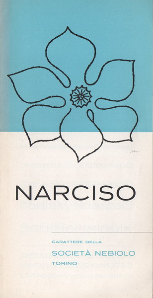 Promotional prospectus of Narciso. 1970s.