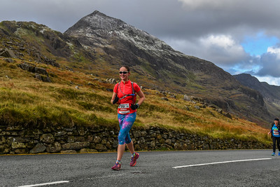 Marathon Eryri - Pen y Pass after 11.25