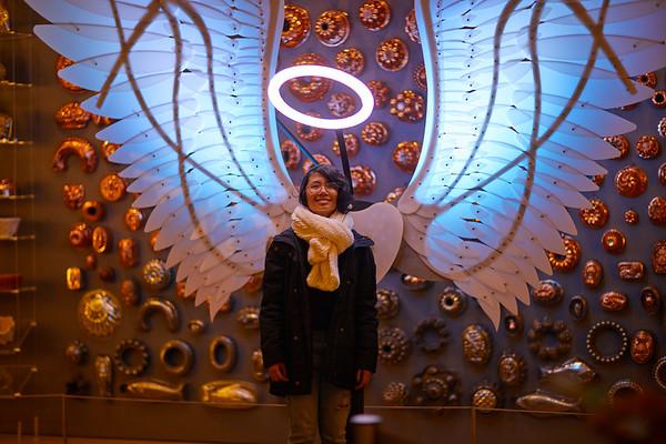 Lighted  Art Festival Angel Wings