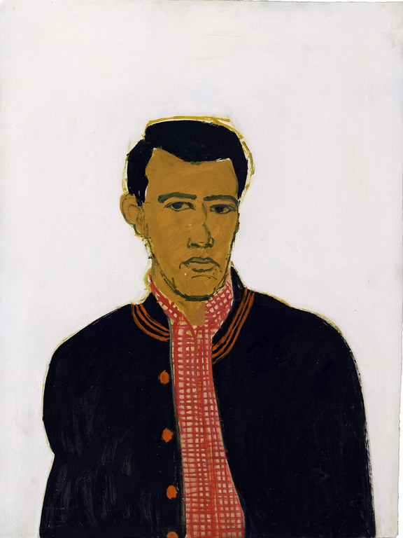 ". �Track Jacket� is a 1959 work by Alex Katz on display in an exhibition at the Cleveland Museum of Art. ""Brand-New & Terrific: Alex Katz in the 1950s\"" continues through Aug. 6. For more information, visit clevelandart.org. (Courtesy of the Cleveland Museum of Art)"