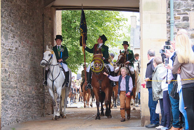 Common Riding Friday - Snuffing & Procession, 2016