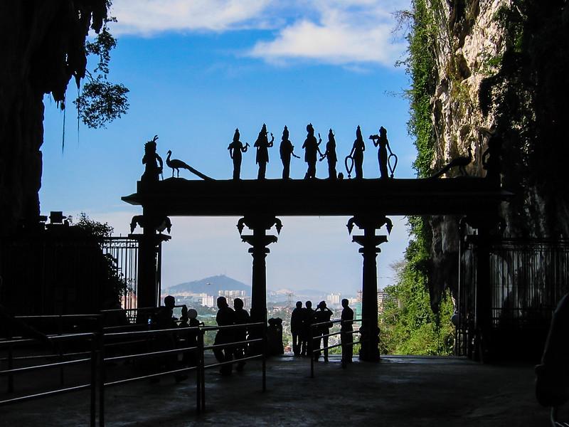 Buddhist temple outside of Kuala Lumpur (Batu Caves?), Malaysia, 2004