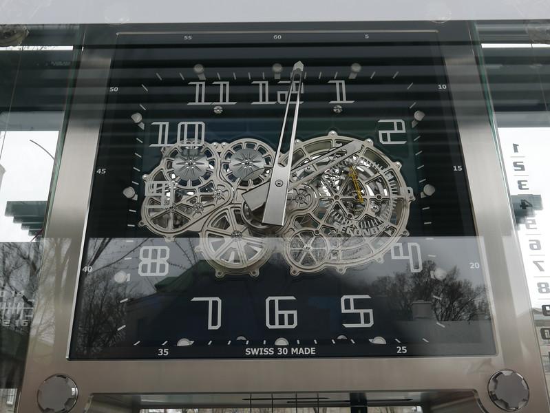 Clock Jura At City Hall