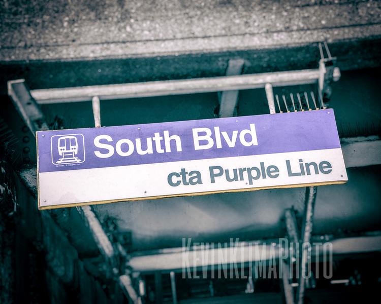 South Blvd. - CTA Purple Line