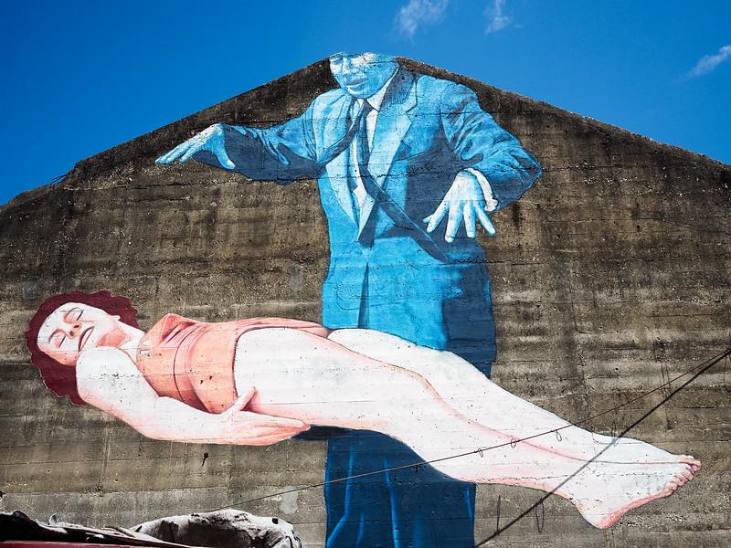 Street art in San Juan, Puerto Rico