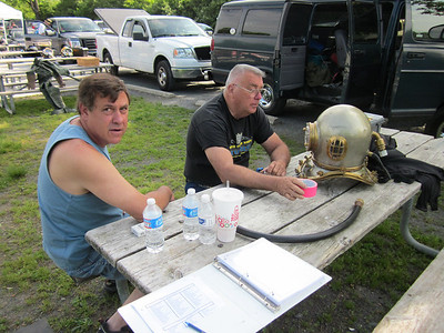 Northeast Diving Equipment Group Vintage Dive Gear Rally at Dutch Springs