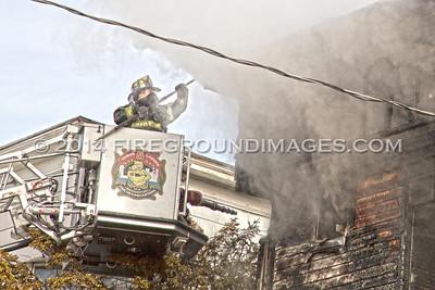 Hancock Ave. Fire (Bridgeport, CT) 2/9/14