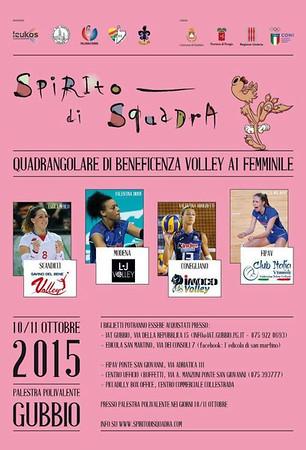 Torneo Spirito di Squadra 2015 - Gubbio