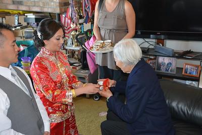 Matt and Yolanda Higa Tea Ceremony 10.4.15