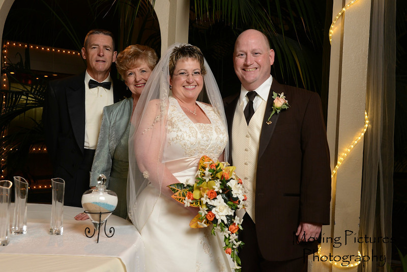 Lori and Mark with Sandy and Irv