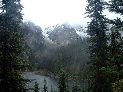 Lake Margaret, Icicle Ridge, 2005