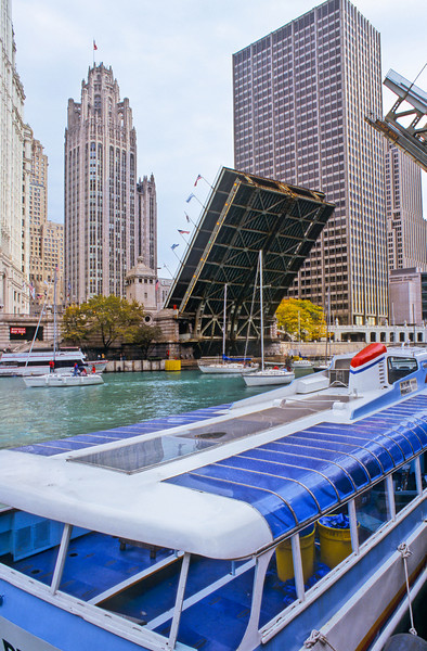 Boat Tour on Chicago River