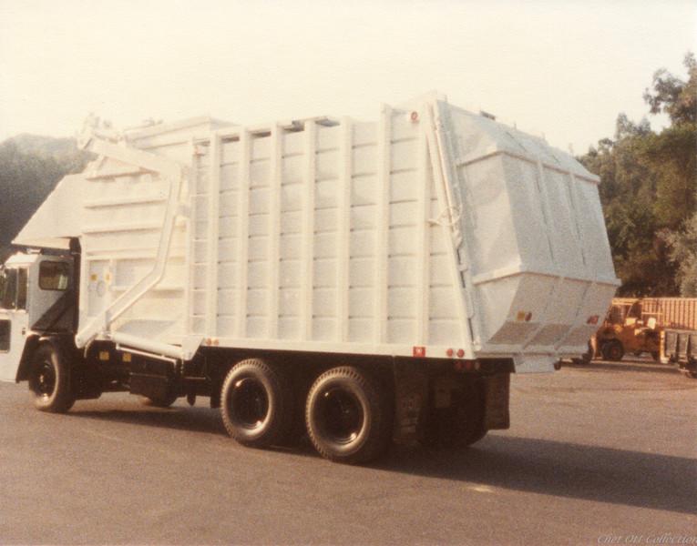 Crane Carrier Super Duty Partial Pack Front Loader