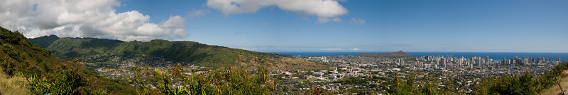 Honolulu from Punchbowl