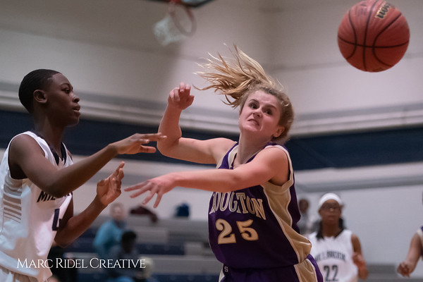 Broughton JV girls basketball vs Millbrook. January 22, 2019. 750_5616