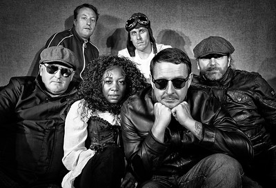 Appy Mundays Tribute band PR shoot (B&W Images)