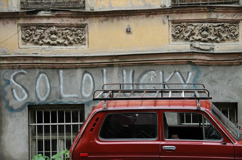 Sololaki Grafitti - Tbilisi, Georgia
