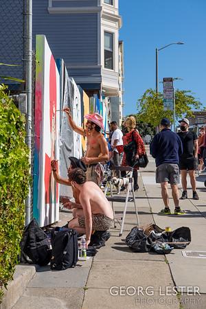 Vaccinate SF Murals