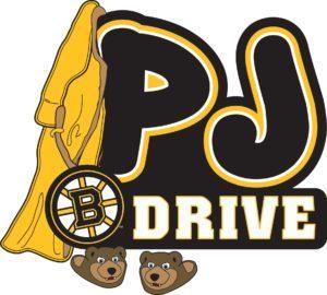 Boston Bruins Pajama Drive Story time