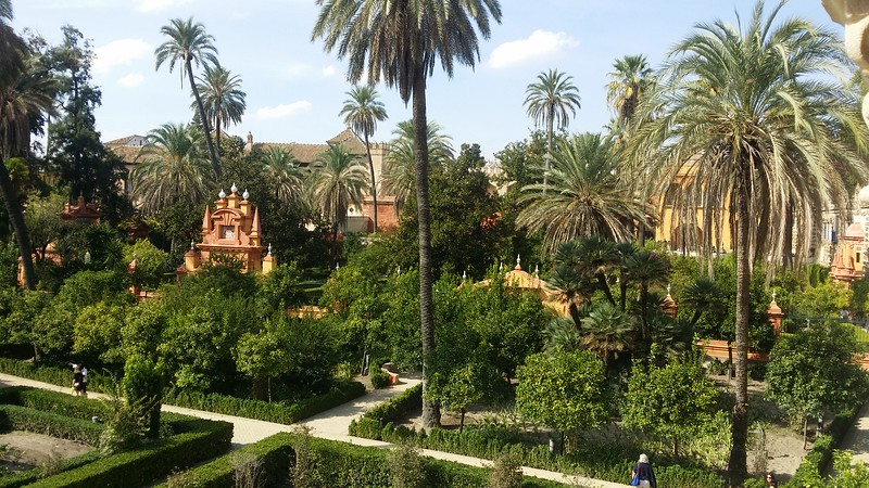 Gardens at Real Alcázar