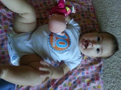 Dannie 10 Months Old